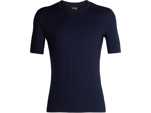 Icebreaker 200 Oasis SS Crew Top Men midnight navy